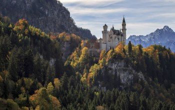 замок нойшванштайн,Neuschwanstein castle,Germany,германия,бавария,bayern