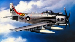 art,war,Airplane,painting,attacker,aviation,bomber,Douglas A-1 Skyraider