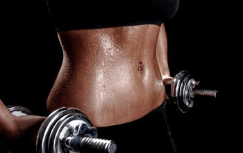 gym,perspiration,dumbbells,pircing