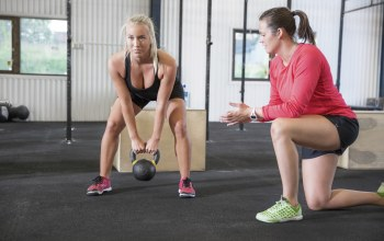 coach,workout,Dumbbell,crossfit,russian,blonde