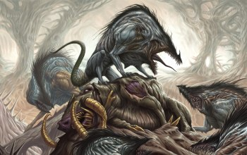 creature,fear,death,herd,forest,teeth