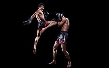 muay thai,fighter,kneed