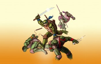 леонардо,teenage mutant ninja turtles,черепашки ниндзя,Донателло,Микеланджело,tmnt,рафаэль,michelangelo,Raphael