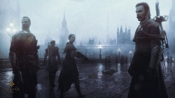 steampunk,The order: 1886,ps4,туман,london,мост,playstation 4,ready at dawn