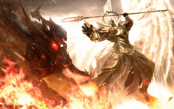 Imperius vs Diablo,Imperius Archangel of Valor,Diablo Lord of ...,Angel of the High Heavens