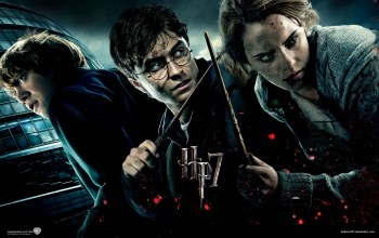 Harry Potter and The Deathly ...,Франшиза,Гермиона Грейнджер,троица,Рон Уизли,Руперт Гринт,Дэниел Редклифф