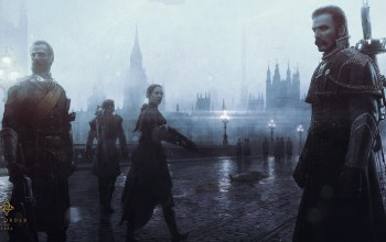 steampunk,The order: 1886,ps4,туман,london,playstation 4,ready at dawn