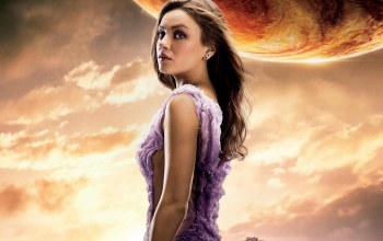 woman,jupiter,...,actress,sky,2015,girl,film,earring,movie,Jupiter ascending,cinema