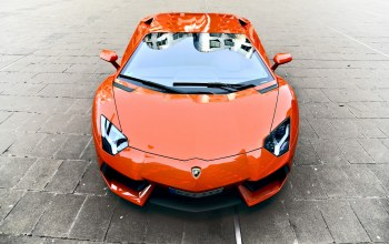 Lamborghini,orange