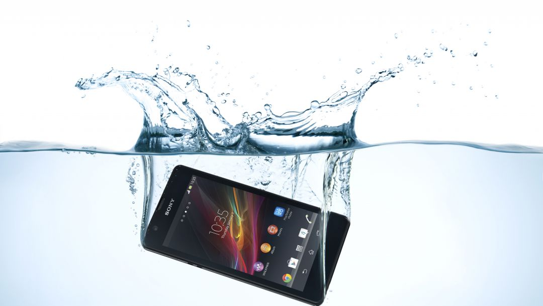 Xperia,Mobile,zr,sony,water