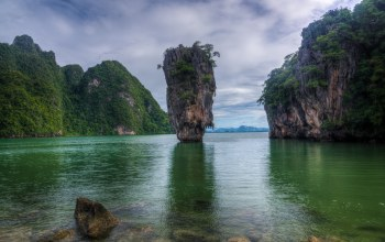 Phing Kan,джеймс,Тапу,Бонд Айленд,Khao,James Bond Island,thailand