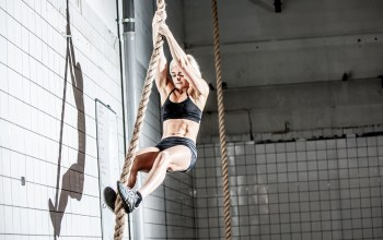 crossfit,intensive training,rope