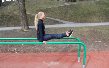 Gymnastics,blonde,Street workout