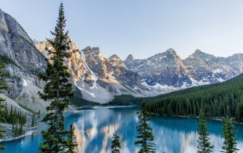 Banff,National park,Пейзаж,Moraine lake