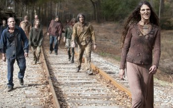 zombies,Railroad,the walking dead,many makeup