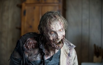 makeup,the walking dead,fear,Zombie