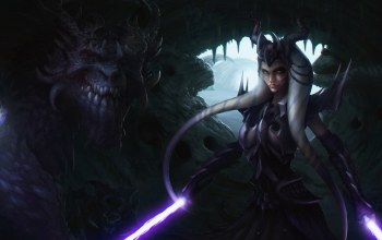 Ahsoka Tano,lightsaber,Jedi,dragon knight