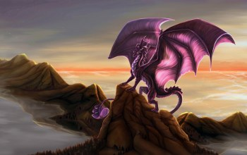dragon,rocks,wings
