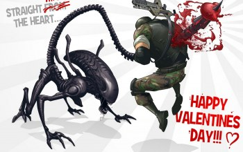 Happy Valentines Day!,fan,Aliens colonial marines