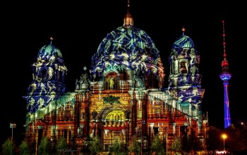 Festival of Lights,Berlin Cathedral
