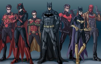 bruce wayne,Jason Todd,batgirl,tim drake,nightwing,Bat-family,red hood