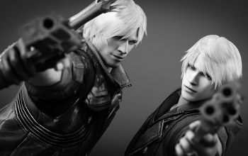capcom,пистолет,Devil may cry,nero