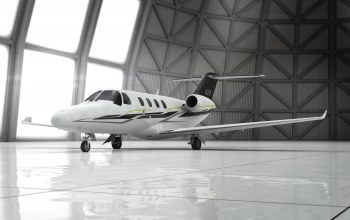 hangar,private jet,3d aircraft,citation m2 latitude
