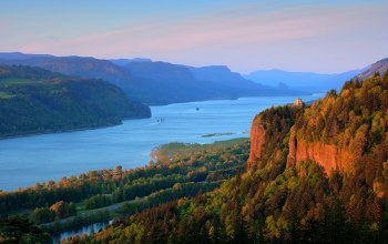 Columbia river,highway,columbia river gorge