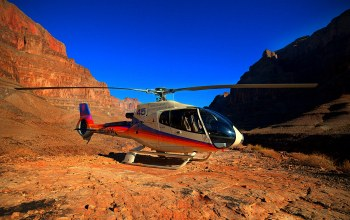 каньон,синее,grand canyon,helicopter