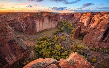 Canyon de Chelly,каньон