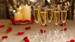 year,new,Champagne,happy,Holidays,glass