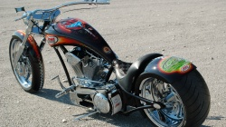 Мотоцикл,Bike chopper custom,аэрография