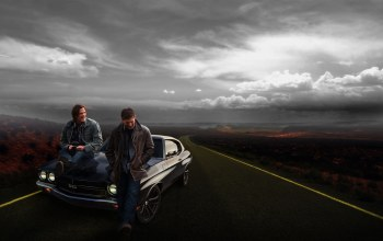 chevrolet,Supernatural,car,Road,winchester brothers