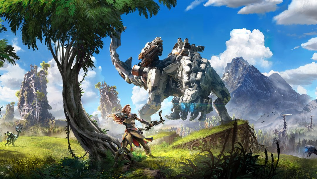 Aloy,sony,ps4,TheVideoGamegallery.com