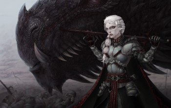 Valeriano,a song of ice and fire,Visenya Targaryen,dragon,war,girl,house targaryen,Noble,all men must serve,fang,death,tv series,armor,Game of thrones,blood,sword,Visenya,all men must die,Targaryen,hd,woman,battlefield,blade,GOT,war of the five kings,Valar Morghulis,Valar Dohaeris,scales,High Valeriano,flag,Medieval,wallpaper,by prokrik