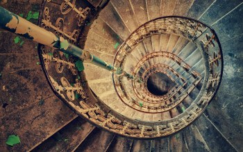 staircase,spiral,stairs,abandoned