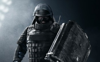 GIGN,soldier,game,Rainbow Six Siege,shield,Rainbow Six,Montagne