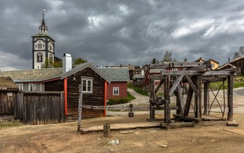 The Mining Town,norway,Норвегия,Røros