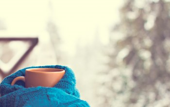 шарф,winter,snow,coffee,cup