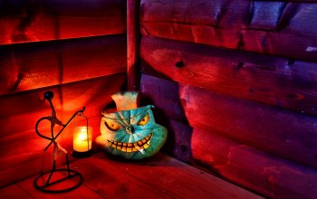 candle,pumpkin,hut,cigarette,Halloween