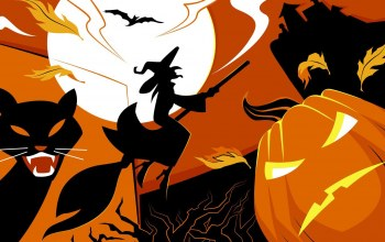 flying broom,witch,pumpkin,vector art,black cats,Halloween,scary,holiday,house,scary house,Bat,Spooky,vector