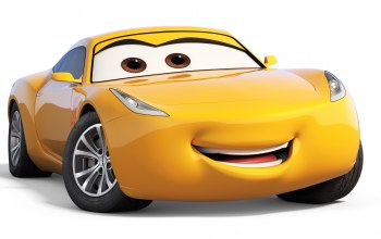 animated movie,car,yellow,animated film,cars,Cars 3,pixar