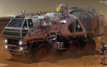 автомобиль,Isolate 2399 Rover,пустыня