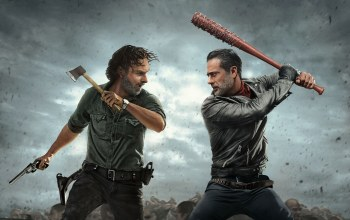 walking dead,jeffrey dean morgan,Rick grimes,negan,andrew lincoln