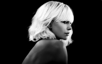 blonde,woman,cinema,film,Atomic Blonde,charlize theron,movie,pose