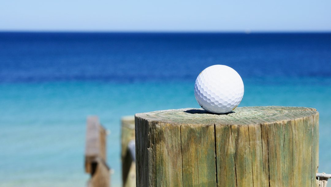 Golf ball,club