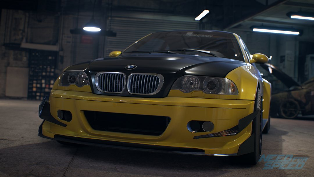 Need for speed 2015,Bmw