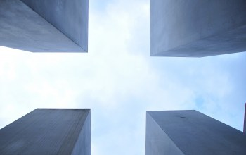 structures,corners,design,cross,concrete,constructions,Squares,clouds,sky,architecture