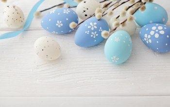 spring,eggs,верба,blue,Easter eggs,Happy easter