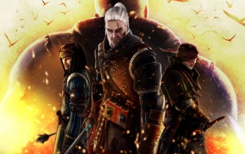 The White Wolf,geralt of rivia,Kingslayer,cd projekt red,The Witcher 2: Assassins of Kings,Iorweth,Andrzej Sapkowski,Blue Stripes,Letho,Scoia